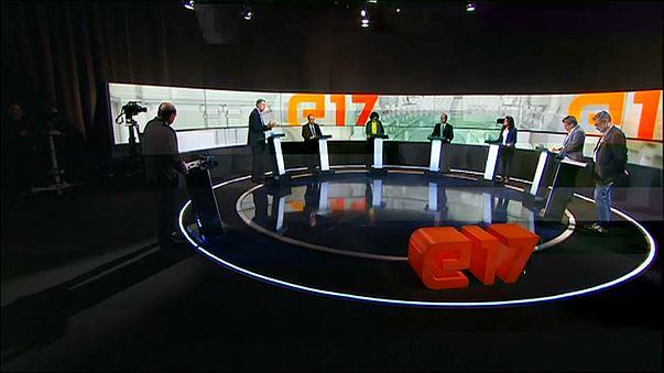 Heated TV debate ahead of Catalonia poll
