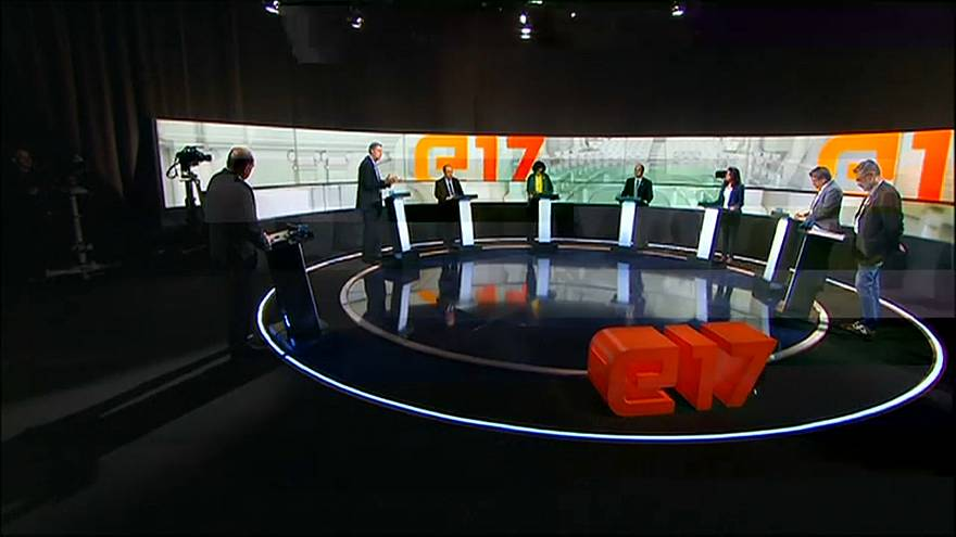 Heated TV debate ahead of Catalonia poll