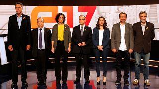 Dernier débat avant les élections catalanes