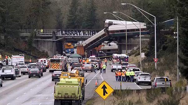 Halálos vonatbaleset Seattle-nél