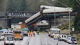 Εκτροχιασμός τρένου στο Σιάτλ -Στην ταχύτητα εστιάζουν οι έρευνες