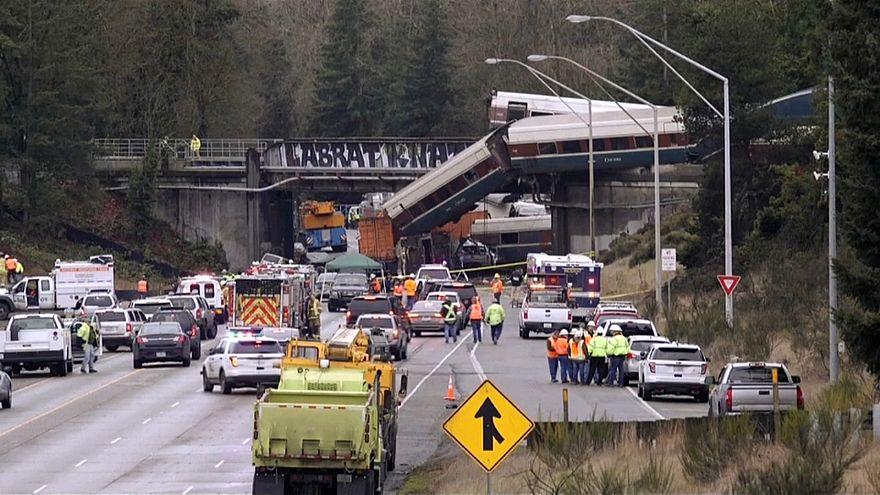 Что привело к аварии поезда в штате Вашингтон?