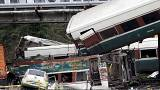 Zugunglück in den USA: Fuhr der Zug zu schnell?