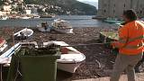Vom Wind angeweht: Der Müll der Adria in Dubrovnik