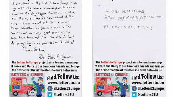 Why we'll miss you: Remainers send Brexit apologies to Europe