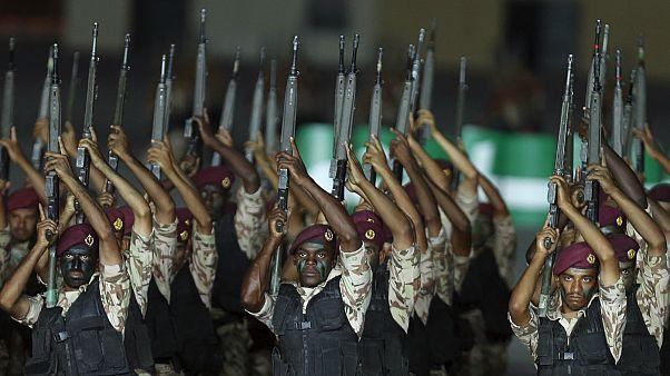 نیروهای ویژه عربستان در ریاض