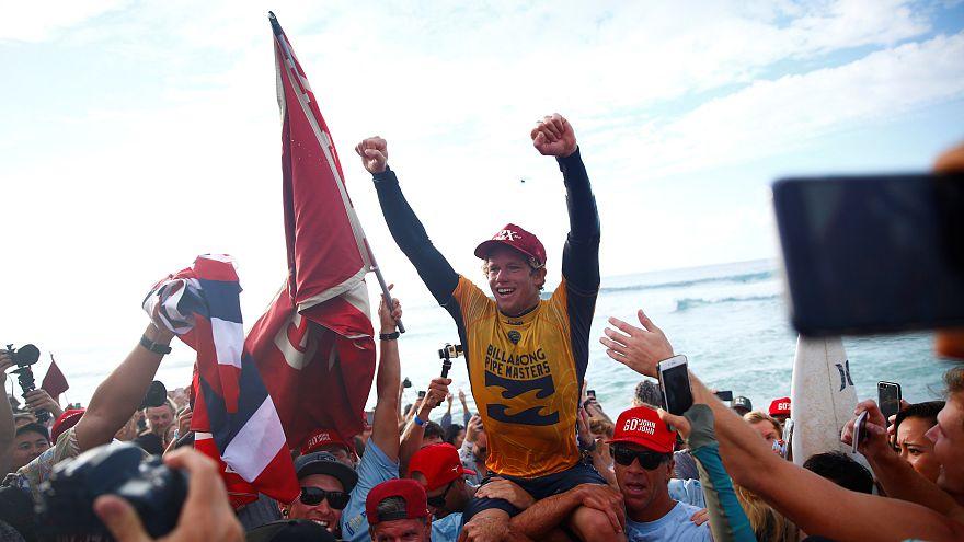 John John Florence conquista título mundial de surf