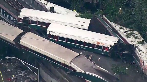 Крушение поезда в США: первые выводы следствия