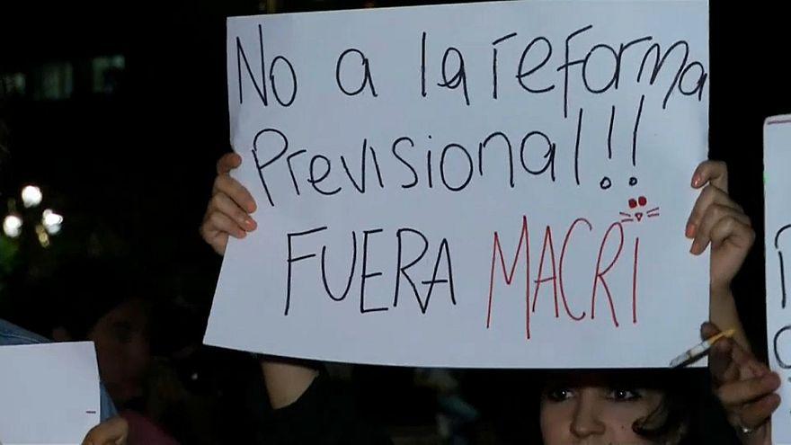 Parlamento argentino aprova nova lei das pensões