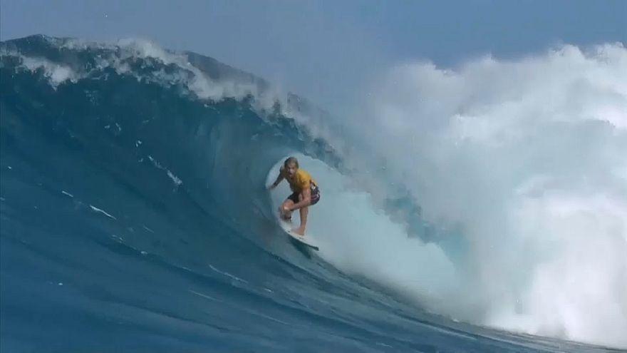 Dünya Sörf şampiyonu John John Florence