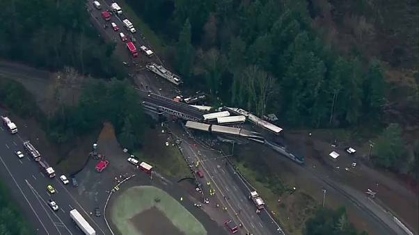 US-Verkehrsbehörde bestätigt: Zug fuhr zu schnell