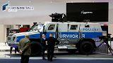 Almanların yeni zırhlı polis aracına Nazi yakıştırması