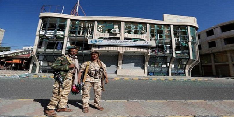 مقاتلان من جماعة الحوثي في اليمن