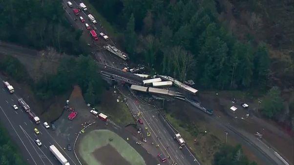 El tren accidentado en EEUU circulaba demasiado rápido