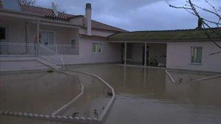Σαρωτικές πλημμύρες έπληξαν τη Ροδόπη