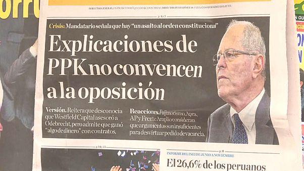 Peru Cumhurbaşkanı, rüşvet suçlamasıyla ifade verecek