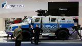 جدل حول سيارات الشرطة الألمانية المدرعة