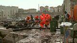 Un mare di rifiuti a Dubrovnik