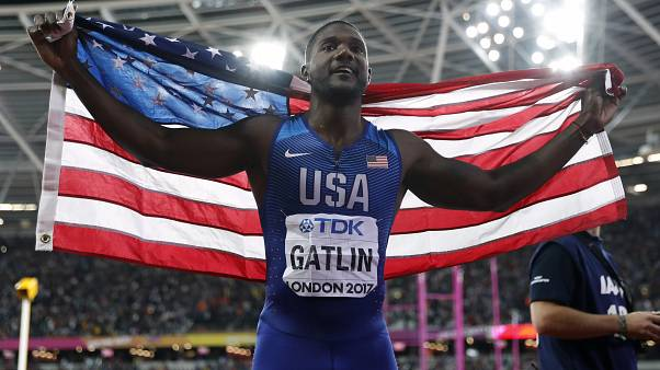 'Shocked' US sprinter Justin Gatlin sacks coach over doping claims