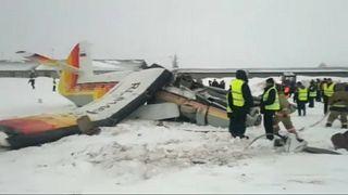 Lezuhant egy kisrepülőgép Nyenyecföldön
