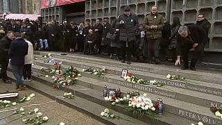 Gedenken an Anschlag auf Berliner Weihnachtsmarkt