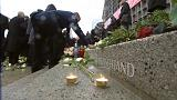Merkel attends Christmas market bombing memorial