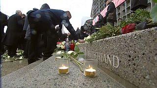 Merkel attends Christmas market bombing memorial