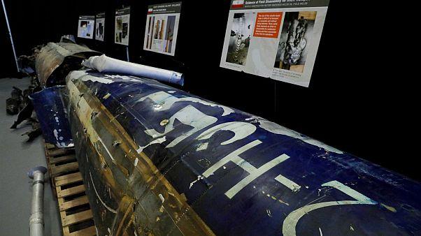 بقایای موشکی که آمریکا ادعا میکند ساخت ایران است
