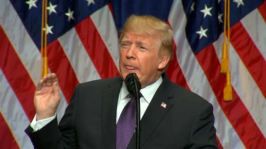 La stratégie de Trump dénoncée par Moscou et Pékin.