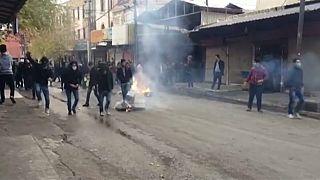 احتجاجات في السليمانية تطالب باستقالة حكومة اقليم كردستان