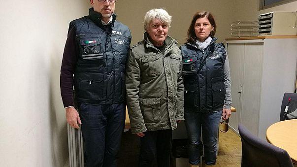 Terrorista italiano extraditado para Roma