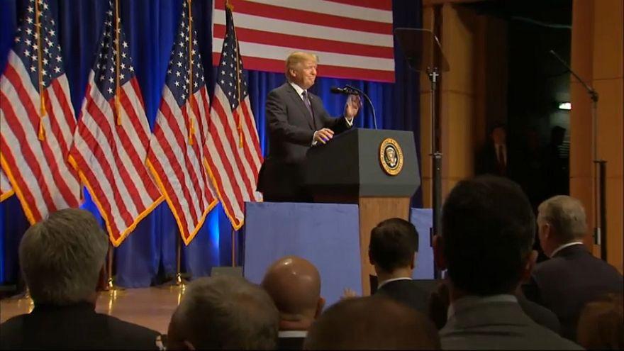 Moscú y Pekín critican la estrategia de Trump