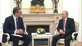 Встреча президентов РФ и Сербии: о газе, оружии, туризме