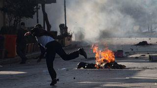 Proteste gegen die Regionalregierung in Suleimania im irakischen Kurdistan
