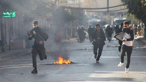 Kuzey Irak'taki maaş protestoları devam ediyor