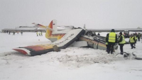 Acidente aéreo no norte da Rússia