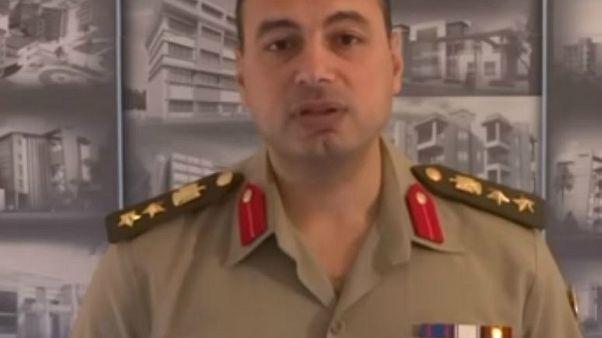 السجن 6 سنوات لضابط مصري أعلن ترشحه للانتخابات الرئاسية