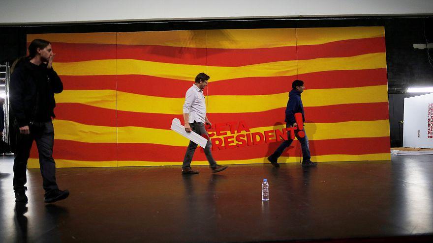 Últimos momentos da campanha para as regionais antecipadas na Catalunha