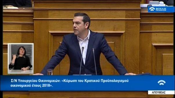 Átment a költségvetés Görögországban
