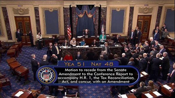 Trump impone su reforma fiscal en el Senado