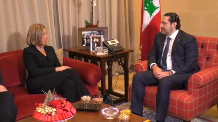 Mogherini da a Hariri el respaldo de la UE