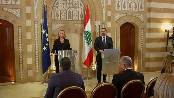EU and Lebanon hold first official talks since PM Hariri's return