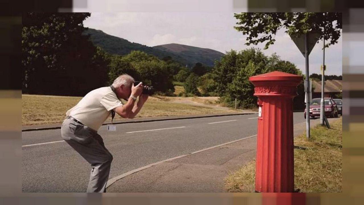Peter Willis a déjà photographié 2500 boîtes-aux-lettres