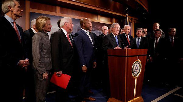 Senado dá luz verde a reforma fiscal de Trump