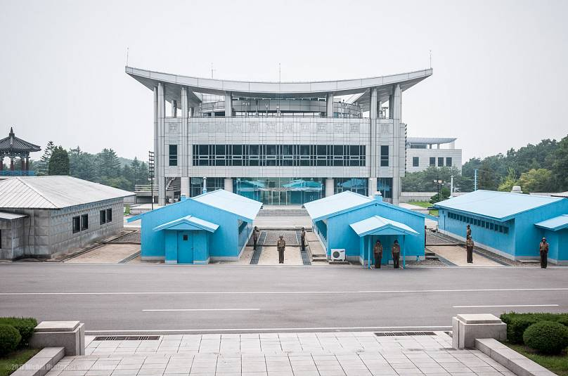 The DMZ in North Korea