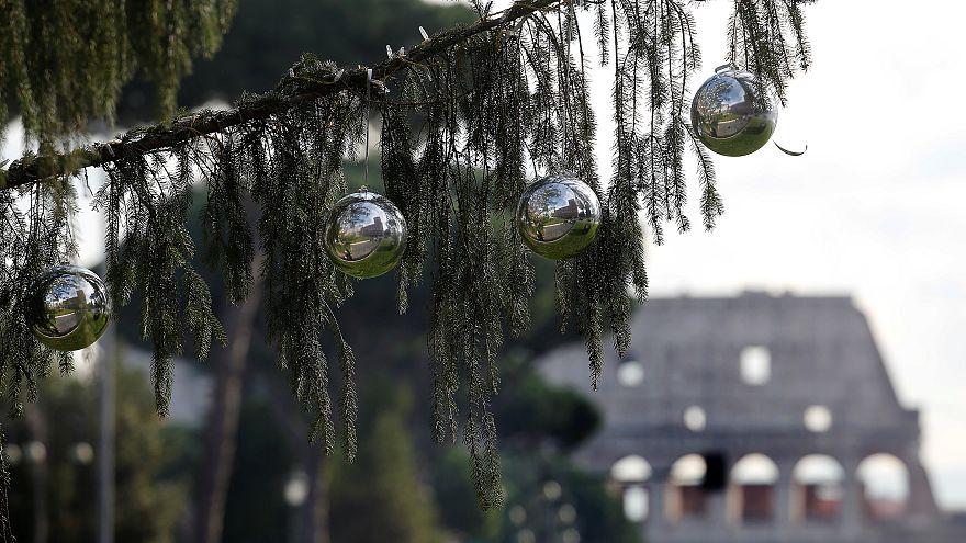 Italia: Spelacchio, l'albero di Natale più discusso...e famoso