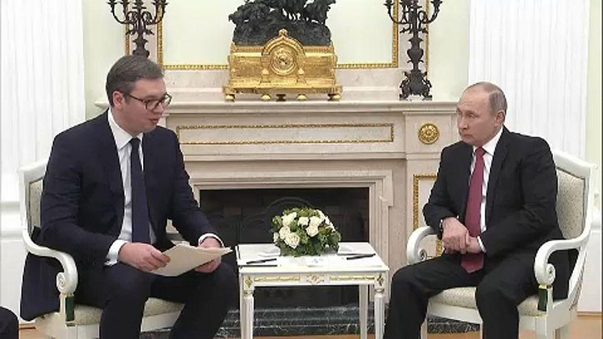 Orosz-szerb elnöki csúcstalálkozó Moszkvában