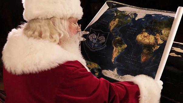 US-Luftraum-Verteidigungskommando verfolgt Santa