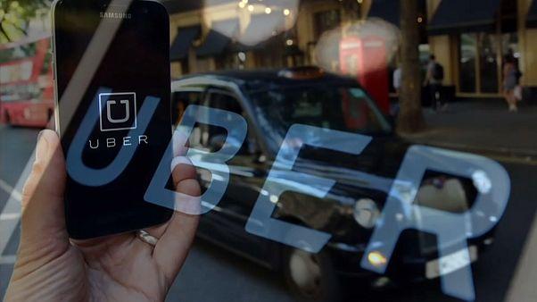 شعار تطبيق أوبر
