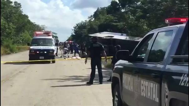 Mexiko: Busunglück mit mindestens 12 Toten